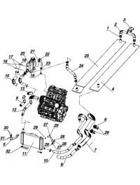 Система охлаждения С40502300 (0)