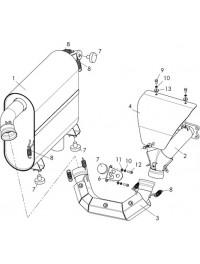 Система выпуска с глушителем С40400420 (0)