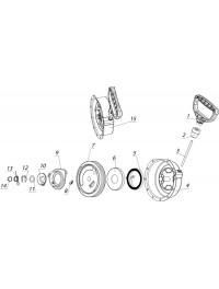 Стартер ручной C40500220-02 (0)