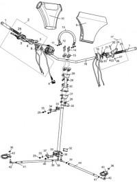 Управление рулевое С40301700 (0)