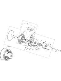 Регулятор центробежный C40601600 (0)