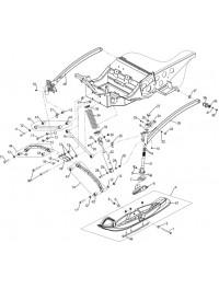 Подвеска передняя и лыжа (0)