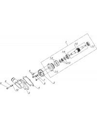 Установка привода водяного насоса К20500040 (0)