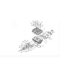 Цилиндровая группа и элементы систем впуска и выпуска 1 карб. (0)