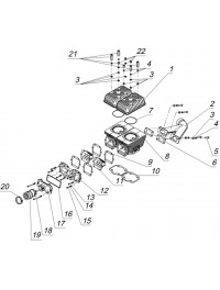 Цилиндровая группа и элементы систем впуска и выпуска (0)