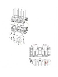 Картер двигателя С40501110 для к/вала С40500610 (0)