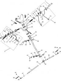 Управление рулевое С40300100 аннулировано 09.2012 и заменено на С40301900 (0)