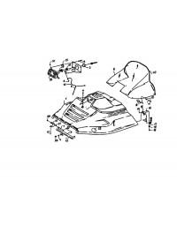 Капот для модели 113 (0)