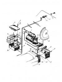 Электрооборудование для снегохода 119 с электрозапуском (0)