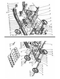 Подвеска гусеницы для с/х 113 (0)