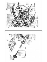 Подвеска гусеницы для с/х 121 (0)