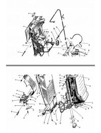 Силовой узел, сиденье, багажник для модели 121 (0)
