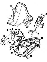 Накладка бензобака L10100360-01 (0)