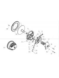 Регулятор центробежный L40600600-01 (0)