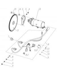 Система электрозапуска (Стартер 111101330) (0)