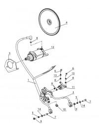 Система электрозапуска (Стартер 515176784) (0)