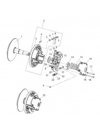 Регулятор центробежный 110606300 (0)