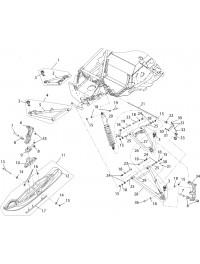 Подвеска передняя и лыжа для S10300100 (30)